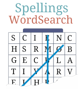icon to click to play Spelling Wordsearch